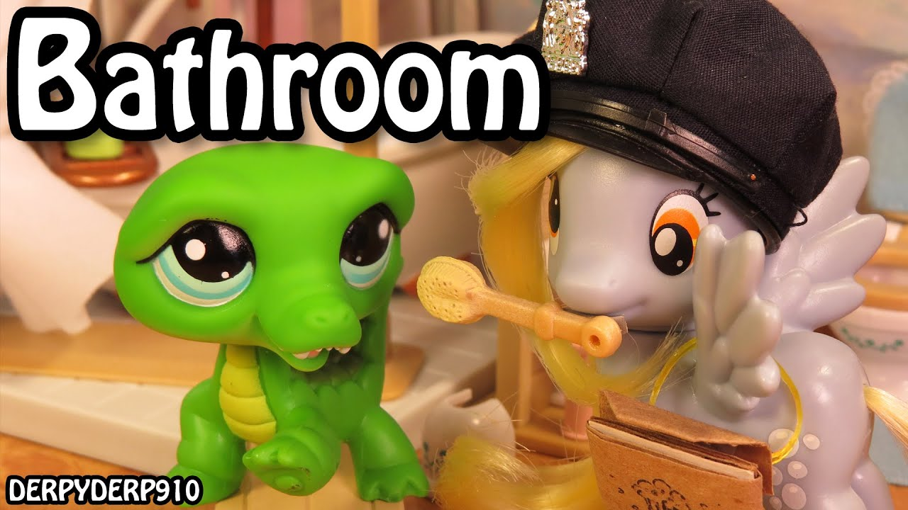 Charmant MLP Stylinu0027 2 U2013 Calico Critters Deluxe Bathroom Set   My Little Pony Toy  Review/Parody/Spoof   YouTube