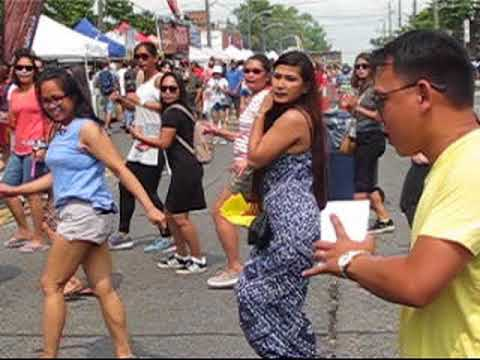 Dancing in the Street at 2018 Taste of Manila in Toronto