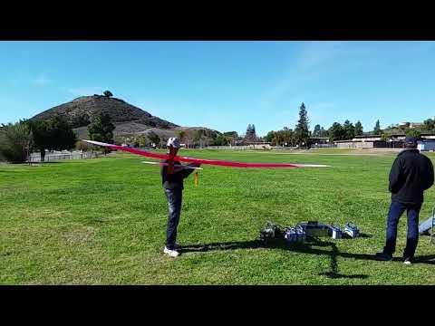 Flying at redwood school