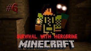 Minecraft: Survival with Herobrine #6 - Постройка крепости!