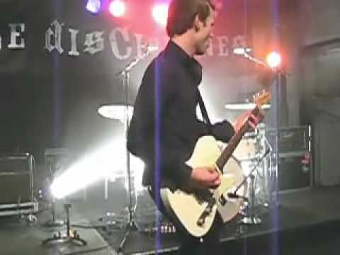The Disciplines - Falling Knives (Live Oslo 17-August-2007)
