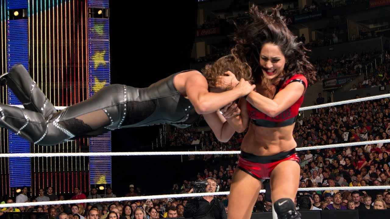 Brie Bella takes the fight to Stephanie McMahon: SummerSlam 2014
