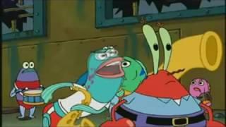 Que dijiste estupido don Cangrejo Bob esponja