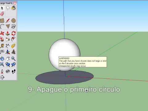 Desenhando Esferas Google Sketchup - YouTube