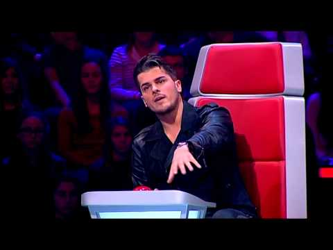 "Luís Sequeira - ""High And Dry"" Radiohead - Prova Cega - The Voice Portugal - Season 2"