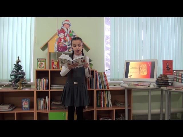Изображение предпросмотра прочтения – ДианаМедведева читает произведение «Ворона» В.И.Даля