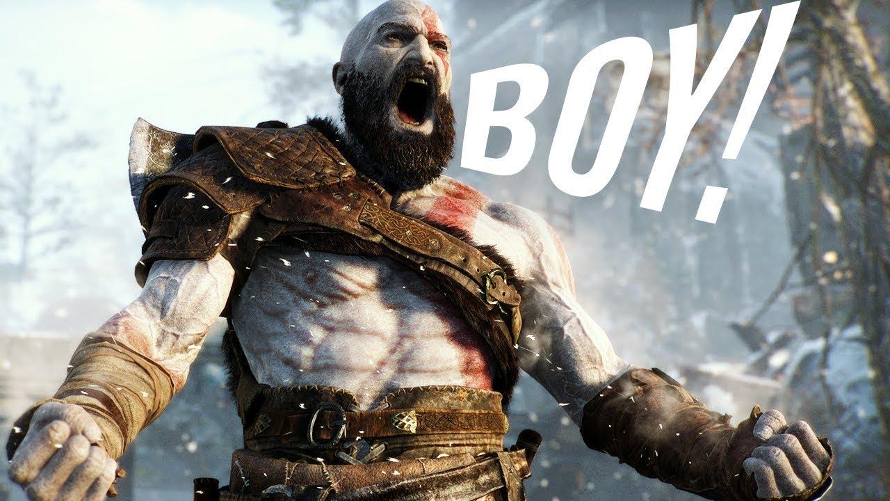 God of War Boytage (Kratos Saying BOY) 1080p HD - YouTube