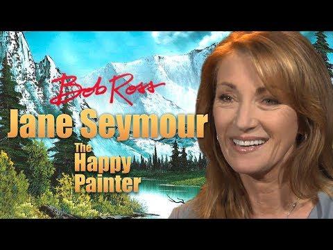 Jane Seymour - Bob Ross: The Happy Painter.
