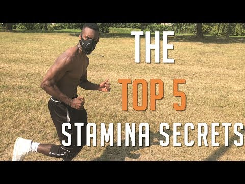 TOP 5 WAYS TO INCREASE STAMINA AND ENDURANCE RUN LONGER FOOTBALL SOCCER