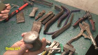 Инструмент жестянщика по авто - молотки, зубила, плашки, дырокол. Обзор