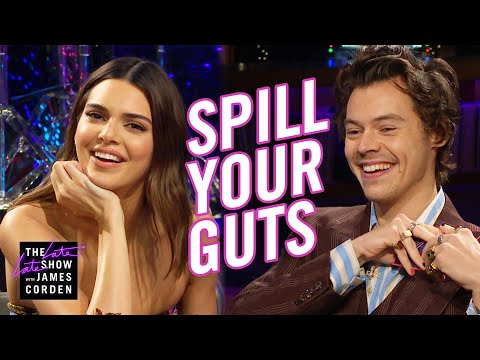 Carter - VIDEO: Harry Styles Plays 'Spill Your Guts' With Ex Kendall Jenner