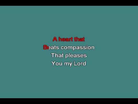 A PURE HEART [karaoke]