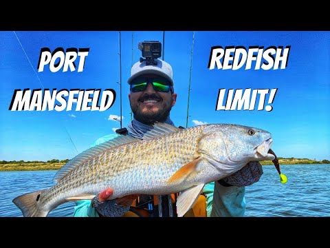 Redfish Limit During A Flood Tide | Port Mansfield Fishing