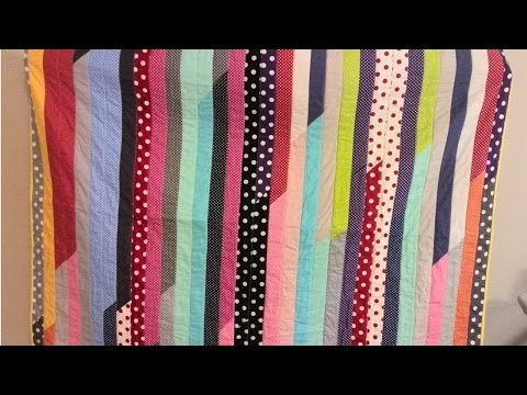 How To Make A Jelly Roll Quilt Top (for Beginners)