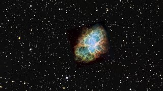 Zoom into the Crab Nebula