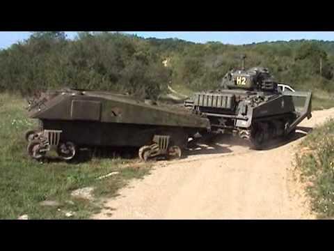 Récupération Sherman M4A4