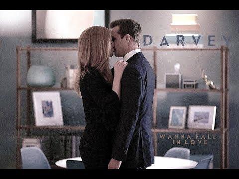 Donna & Harvey - Wanna Fall In Love [7x10]