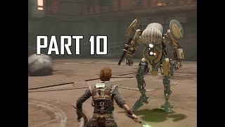 STAR WARS JEDI FALLEN ORDER Walkthrough Part 10 - Separated