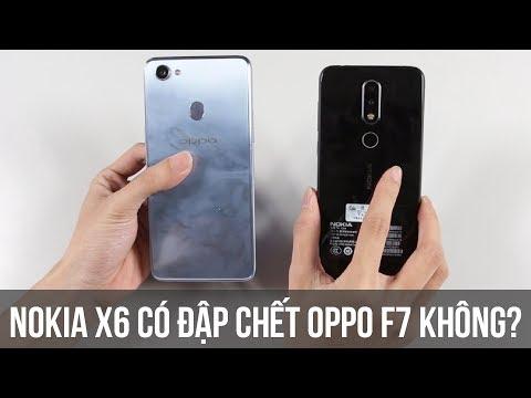 Nokia X6 tai thỏ 5tr, snap 636, đập chết Oppo F7 2018? So sánh nhanh