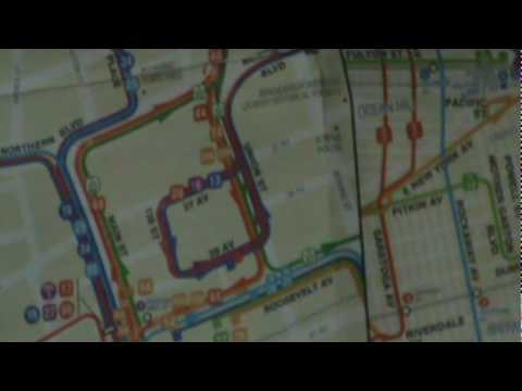 The Queens Bus Map - YouTube on