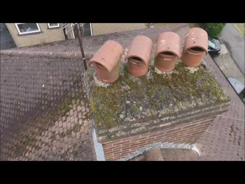 Roof inspection with DJI Phantom 4 drone