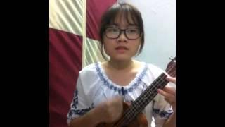 Tình thôi xót xa ukulele cover by Trang Trần