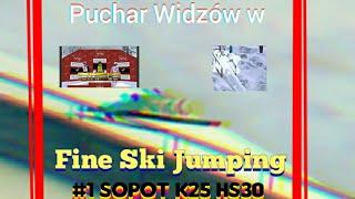 Puchar Widzów w Fine Ski Jumping #1 Najmniejsza skocznia w grze i niespodziewany zwycięzca