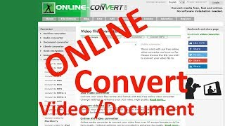 Video How to convert video to audio and pdf file to word file online download MP3, 3GP, MP4, WEBM, AVI, FLV November 2018