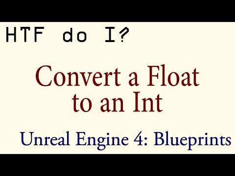 HTF do I? Float to Int