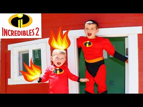 Incredibles 2 Reaction To JACK JACK New Powers In Huge Play House