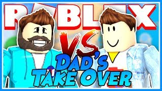 Dads Take Over the Channel | Mesoneer and Bowser Dad Collab | Roblox MM2 Speed Run Natural Disasters