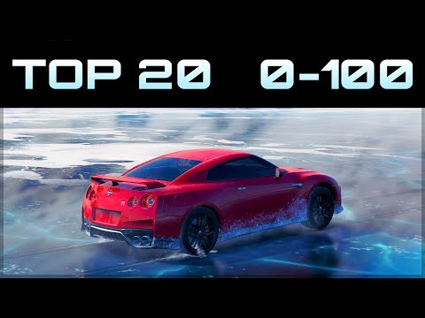 TOP 20 FASTEST 0-100 CARS ON ICE  | Forza Horizon 3 | Crazy Accelerations!
