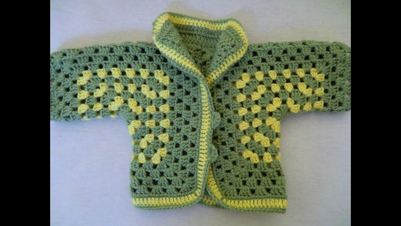 Crochet Pattern Easy Crochet Jacket Youtube