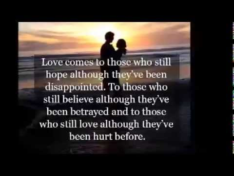 It Hurts To Love Someone And Not Be Love In Return Youtube
