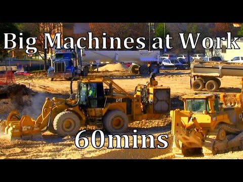 "Big Machines at Work 60mins ""Raw Sound"""