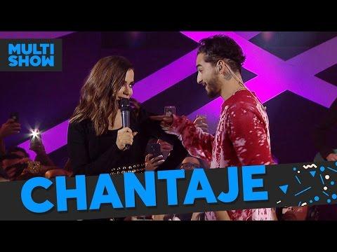 Borro Cassette + Chantaje | Anitta + Maluma | Música Boa Ao Vivo