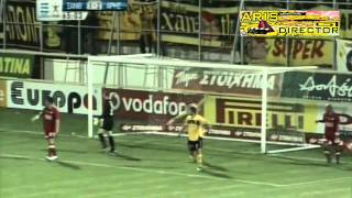 Skoda Xanthi vs. Aris 1-2 (Superleague - 2010/2011)