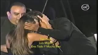 Luis Miguel y su amor incondicional a sus fans