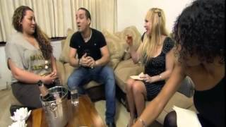 Come dine with me day 1 Tempered Sicilian Man and 3 Rude Girls