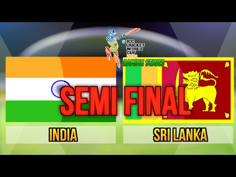 ICC Cricket World Cup 2015 (Gaming Series) - Semi Final India v Sri Lanka