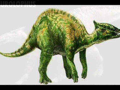 Tribute to Saurolophus