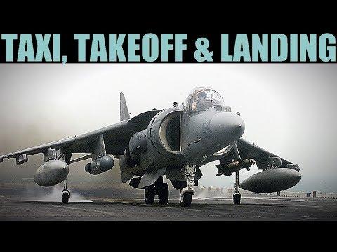 AV-8B Harrier: Taxi, Basic Takeoff, Landing & Flight Guide | DCS WORLD