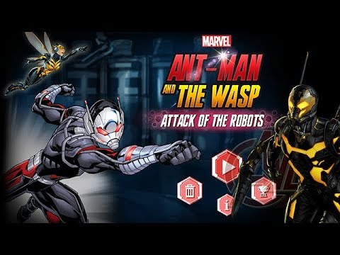 Download MARVEL - ANT-MAN and the WASP: ATTACK of the ROBOTS - Part 1 [Gameplay, Walkthrough]