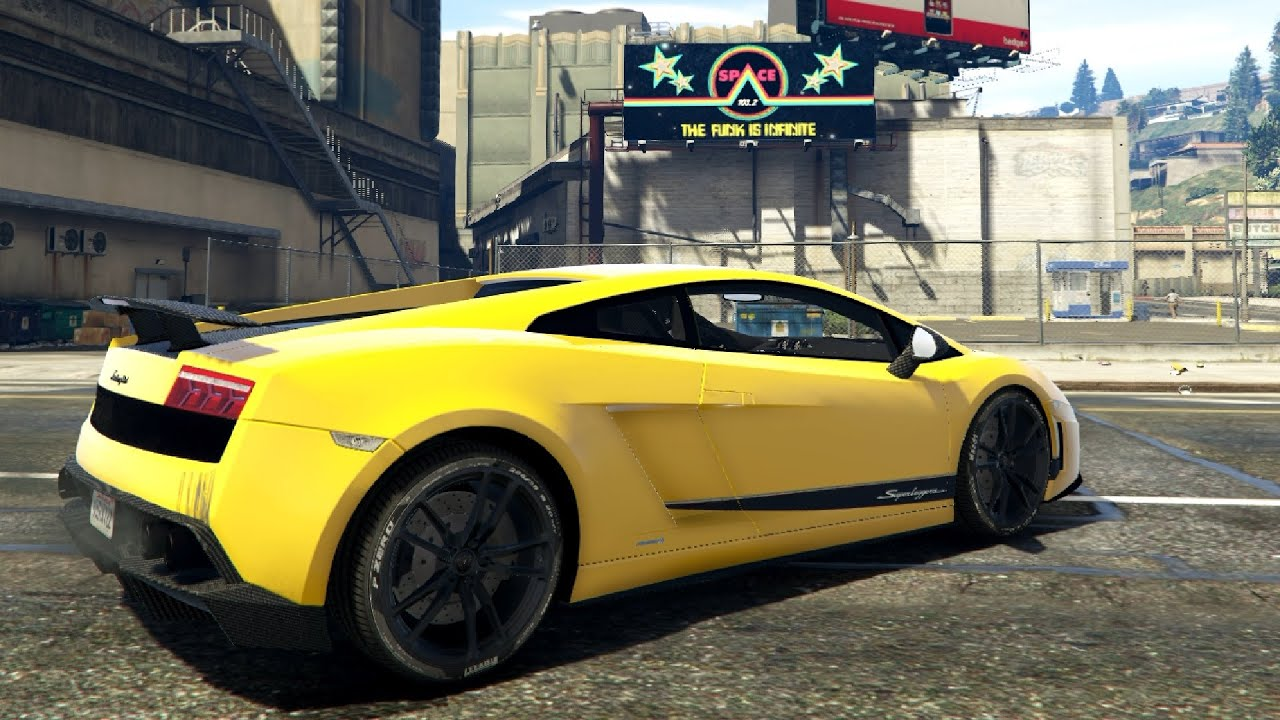 Lamborghini Gallardo Lp 570 4 11 Superleggera Gta V Youtube