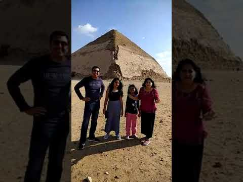 Egypt Pyramids Holiday, Dahshur Bent And Red Pyramids