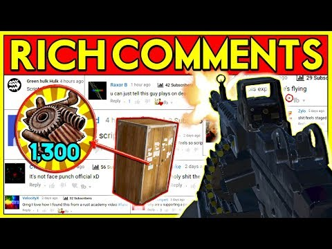 Rust RICH Comment RAIDS! - SCRAP JACKPOT + M249 PvP Raiding (Rust Solo Eco Raid) thumbnail