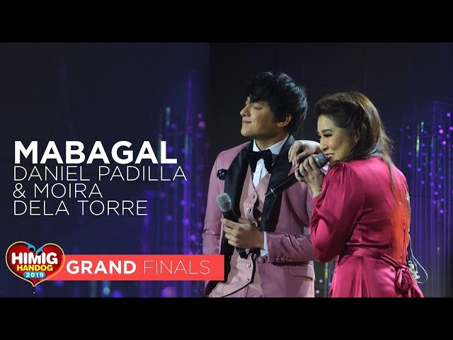 Mabagal - Daniel Padilla & Moira Dela Torre | Himig Handog 2019 Grand Finals