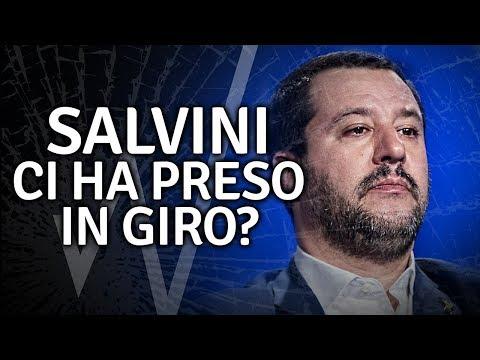 Matteo Salvini ci ha preso in giro?
