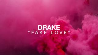 Gambar cover (Cover) DRAKE   FAKE LOVE Lyrics