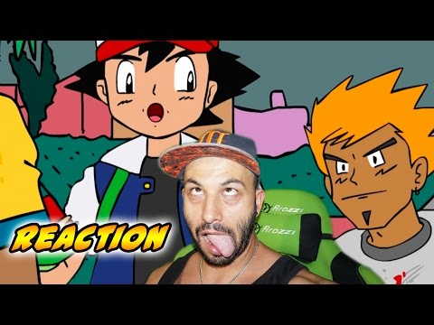 ASH JUEGA Pokemon GO Parte 1 | Video Reaccion | Reaction